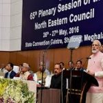65th Plenary Session of the North Eastern Council on 26th-27th May 2016 at Shillong