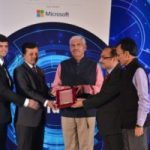 """The Indian Express Group has awarded INFRACON for Outstanding Tech Platform for Engaging Professionals at """"Express Technology Sabha"""" in Visakhapatnam on 18-02-2017."""