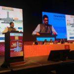 एच.आई.सी.सी. कॉम्पलैक्स , हाईटेक सिटी, हैदराबाद में 08 और 09 सितम्बर, 2016 को 45वां स्कॉच शिखर सम्मेलन ।