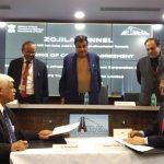 एनएचआईडीसीएल द्वारा आईएल एंड एफएस ट्रांसपोर्टेशन नेटवर्क्स लिमिटेड के साथ जोजिला सुरंग परियोजना के लिए संविदा करार पर हस्ताक्षर किए गए