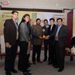 एन.एच.आई.डी.सी.एल. को इम्पीरियल होटल, नई दिल्ली में 23.12.2016 को प्रौद्योगिकी अभिग्रहण के लिए गवर्नेंस नाऊ चौथा पी एस यू पुरस्कार प्रदान किया गया।